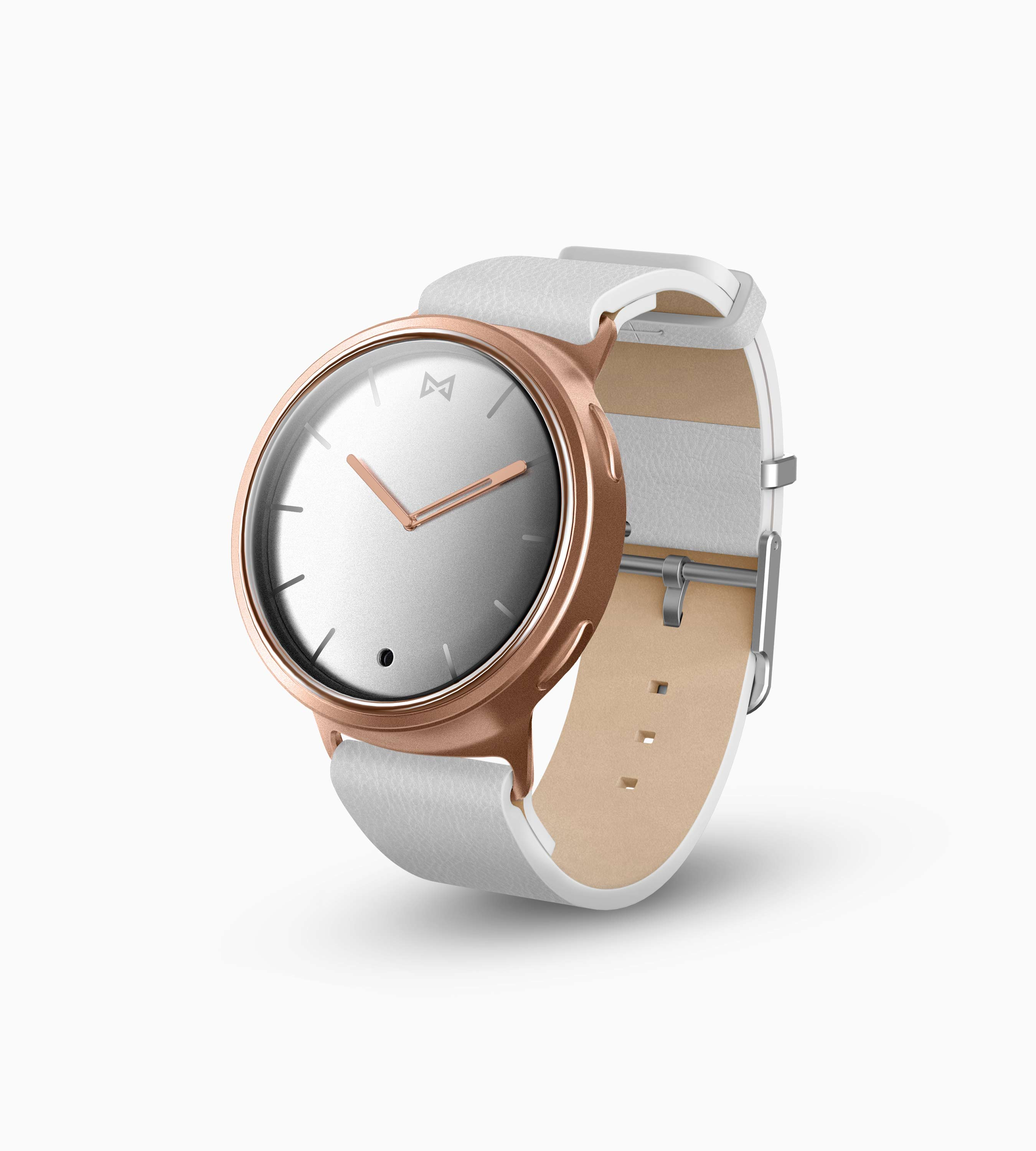 Misfit Phase Hybrid Smartwatch (Rose Gold & White)