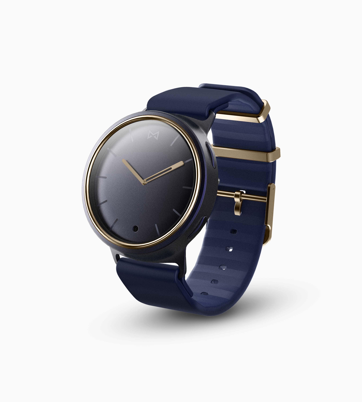Misfit Phase Hybrid Smartwatch (Midnight & Gold)