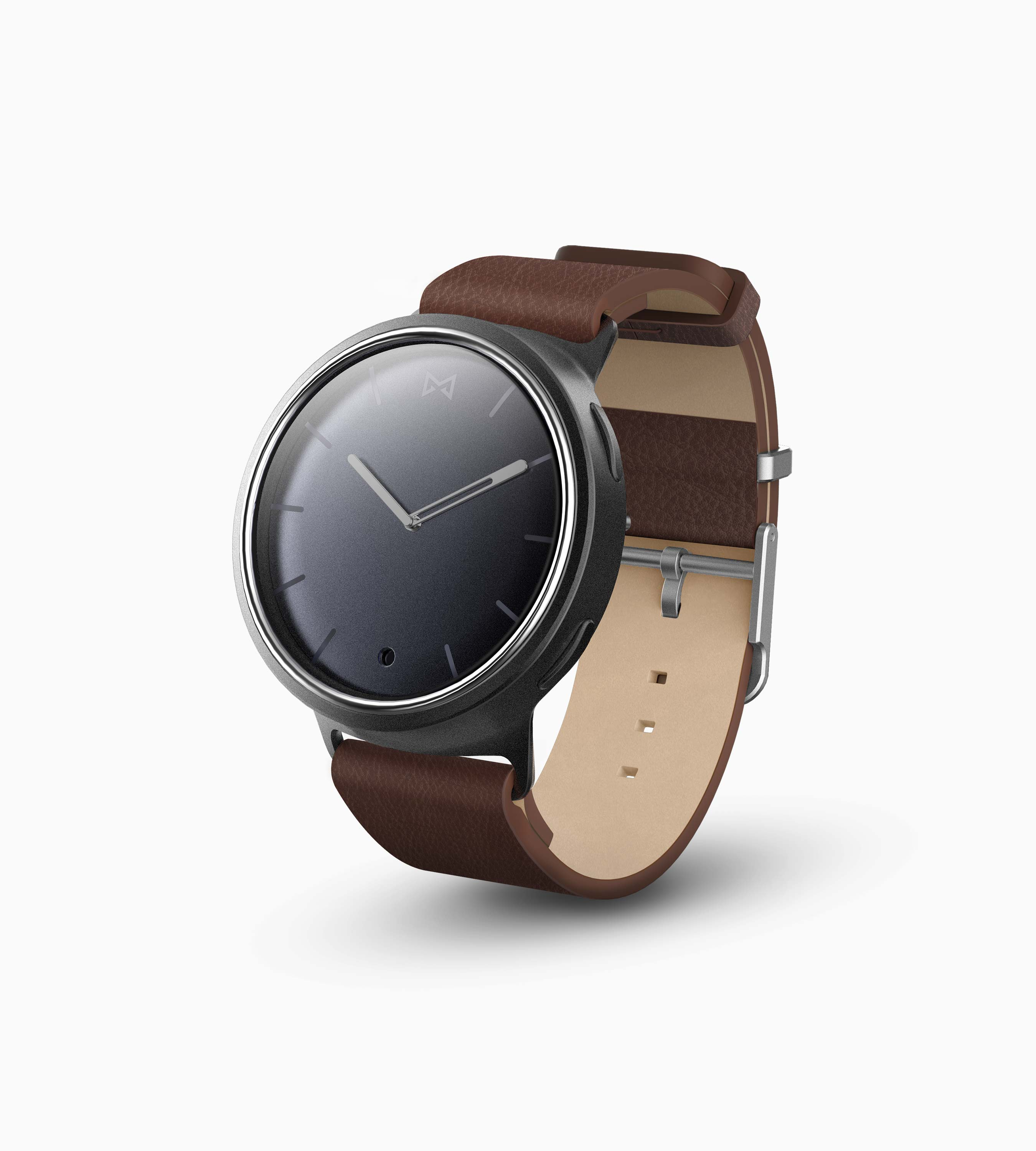 Misfit Phase Hybrid Smartwatch (Midnight & Brown)