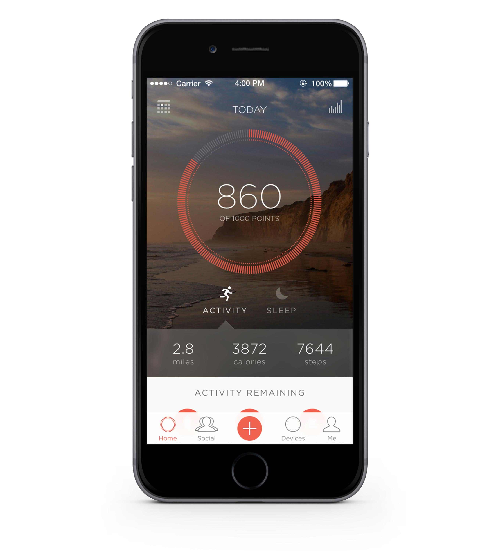 Misfit App Mobile