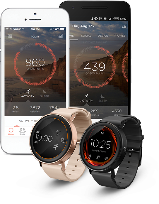 Misfit Vapor - Take your watch style to the next level with a Misfit Vapor  Smartwatch